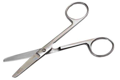 Ножницы тупоконечные, прямые, 140 мм