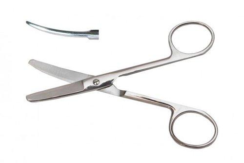 Ножницы тупоконечные, вертикально - изогнутые, 140 мм