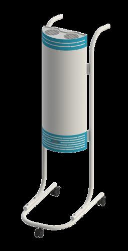 Облучатель-рециркулятор ОБР-15/2 П бактерицидный, передвижной