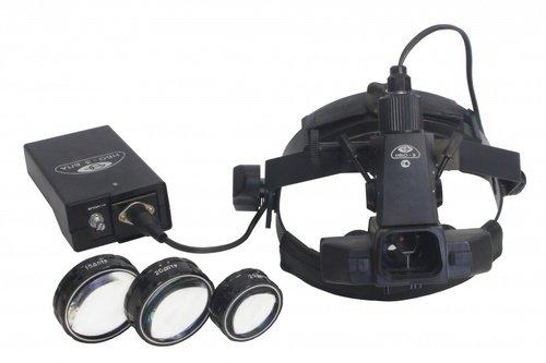 Офтальмоскоп НБО-З, налобный бинокулярный