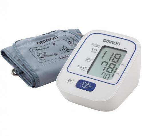 Измеритель артериального давления и частоты пульса автоматический с адаптером OMRON 717 (HEM-8712-CM)