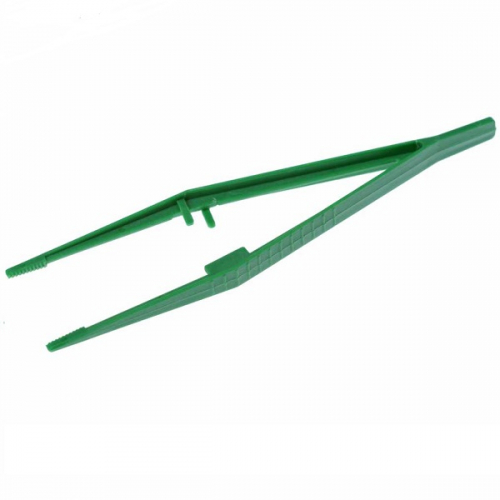 Пинцет медицинский прямой одноразовый стерильный длина 15 см