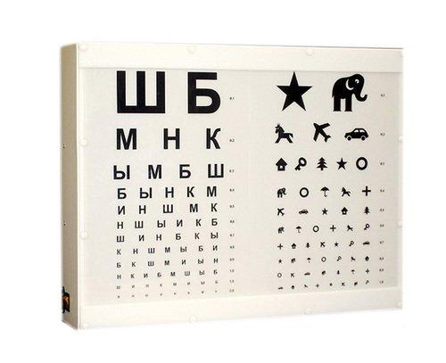 Осветитель таблиц для исследования остроты зрения ОТИЗ-40-01 (исп. 2)