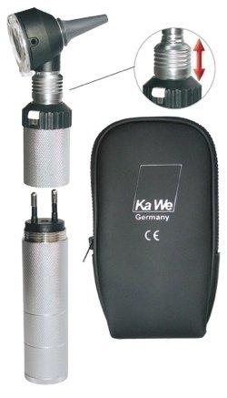 Отоскоп COMBILIGHT (Комбилайт) 30 ксенон ФО, перезаряжаемый от розетки, KaWe