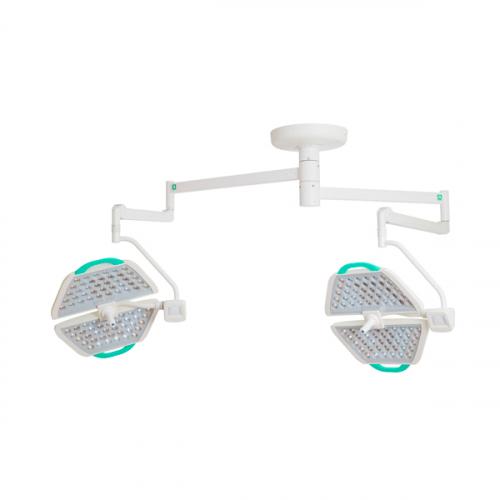 Потолочный двухблочный светодиодный операционный светильник Паналед 140/140