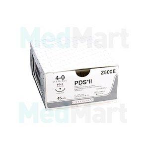 ПДС II (PDS II) 5-0, 90 см. фиолет. кол. 17х2 мм. 1/2, производства Ethicon