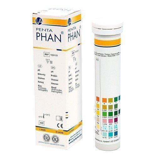 ПентаФАН (50 полосок)Полифункциональные полоски ФАН (для анализа мочи)