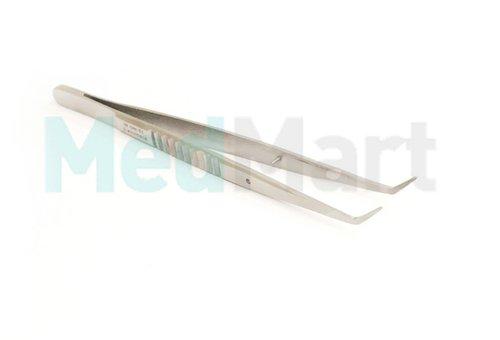 2255-2 Пинцет: Medical зубной изогнутый, 155 мм