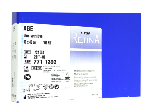 Пленка рентгеновская  RETINA XBE 30х40 100 листов