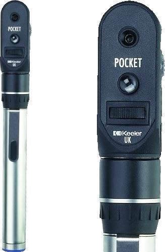 Pocket офтальмоскоп с принадлежностями, карманный