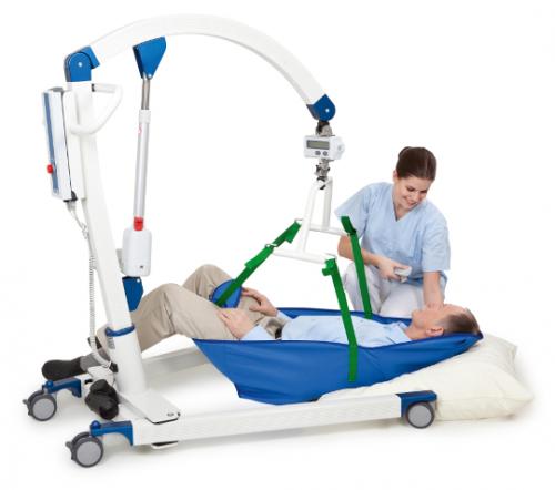 Подъемник мобильный Carlo для перемещения маломобильных пациентов с принадлежностями