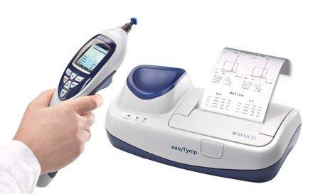 Портативный аппарат easyTymp Pro Version с принтером