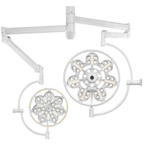 Эмалед 500/300 - двухкупольный потолочный операционный светильник