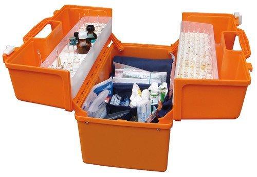 Укладка врача скорой медицинской помощи для хранения и транспортировки лекарственных средств, инструментов и других медицинских изделий УМСП-01-Пм2 (440х252х340 мм) без ларингоскопа (ТУ 9437-006-52777873-2010)