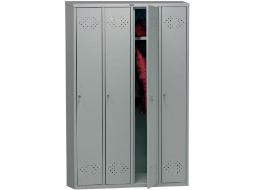 ПРАКТИК МД LS(LE)-41 металл, шкаф для одежды