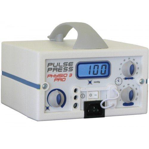 Аппарат для пневмомассажа конечностей 3-канальный, ручной Pulsepress Physio 3 Pro (ручное управление и программирование времени/уровня компрессии и декомпрессии)