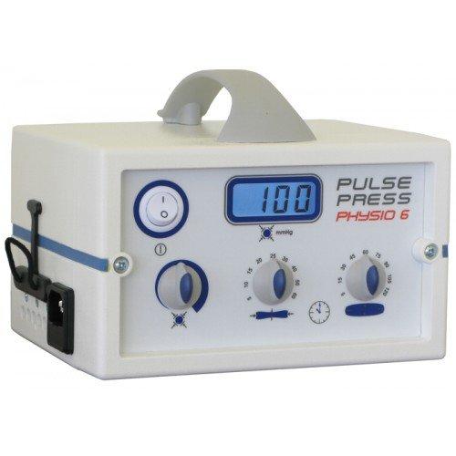 Аппарат для пневмомассажа конечностей 6-канальный ручной Pulsepress Physio 6, (ручное управление и программирование времени/уровня компрессии и декомпрессии)