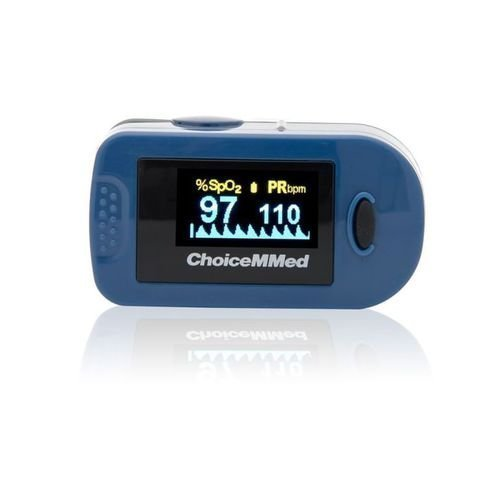 Пульсоксиметр медицинский CHOICEMMED MD300C2 миниатюрный, цв. дисплей