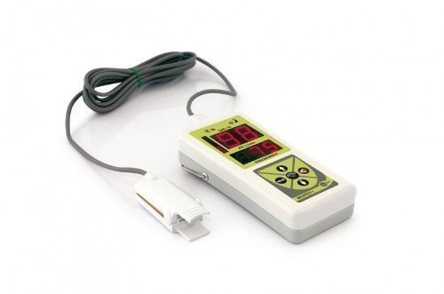 Пульсоксиметр портативный Окситест - 1, сетевой адаптер, детский