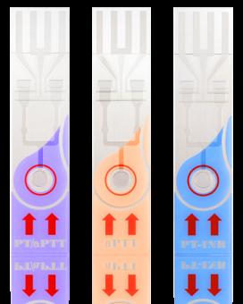Тест-полоски ПТВ-МНО в цельной крови QS-1-12 Pro qLabs PT-INR, 24 шт.