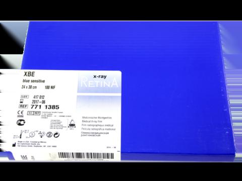 Пленка рентгеновская  RETINA XBE 24х30 100 листов