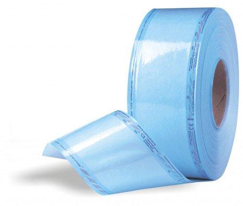 Рулон для стерилизации 13х200см комбинированный плоский