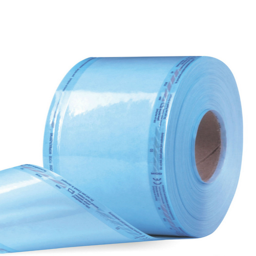 Рулон для стерилизации комбинированный, плоский, 350 мм*200 м