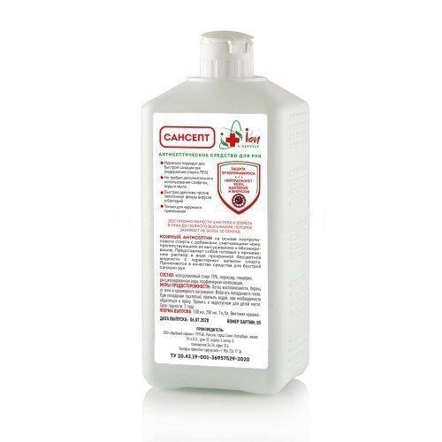 САНСЕПТ Антисептическое средство для дезинфекции  с витамином Е 1 литр ЕВРОФЛАКОН