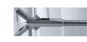 Щипцы эндоскопические биопсийные гибкие, рабочая длина 400 мм, диаметр 7 Charr, с двумя овальными рабочими браншами 351-120-107