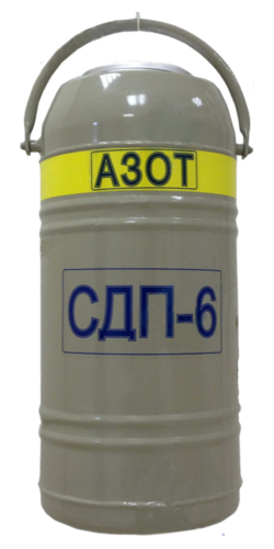 Сосуд Дьюара СДП-6, 6 л
