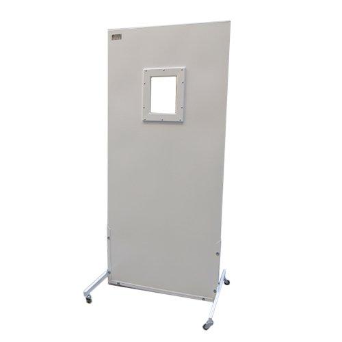 Ширма ШРБ1-ПОНИ 0,1 мм Pb рентгенозащитная, 2000*1000 мм, с окном