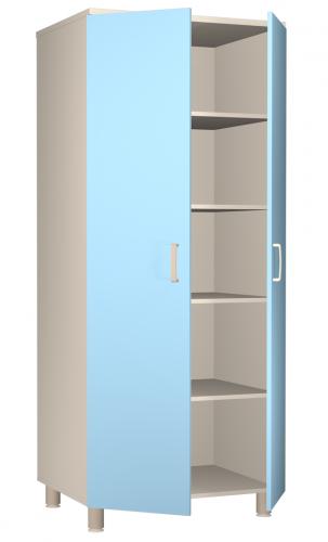 ШК.37.02 Бест АСК 2 отделения, 5 полок, шкаф для одежды