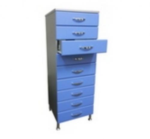 Универсальный шкаф для архивирования, АМ-9 (9 ящиков для стекол)