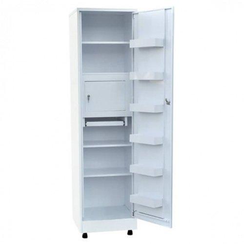 Елат ШКМ, металлический, с замком, шкаф для медикаментов и инстр.
