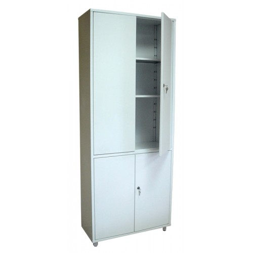 ШМ 2-2М А1 двери - металл, шкаф для медикаментов и инструментов