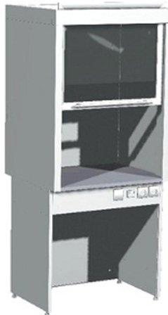 Шкаф вытяжной лабораторный ШВ-01-МСК (керамика, кран, тумба)