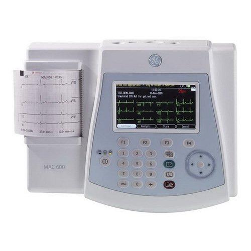 GE MAC 600 электрокардиограф 3-канальный