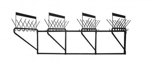 Вешалка для одежды М163-02, настенная