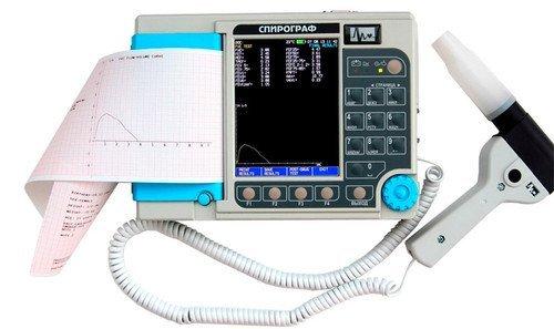 Спирограф СМП-21/01-Р-Д M0100 микропроц. портативный, с термопринтером