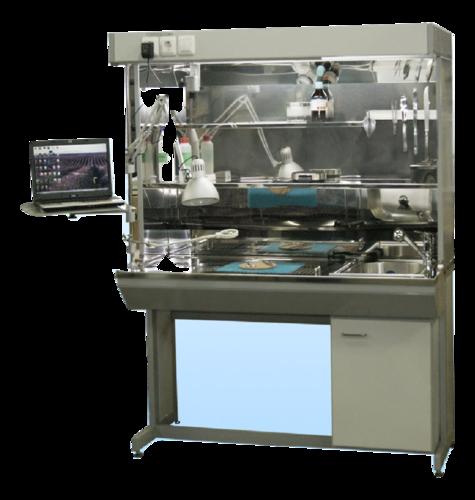 Станция для макроисследования и вырезки тканевого материала СВ-2Б