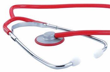 KaWe Сингл красный медицинский стетофонендоскоп