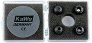KaWe Топ-кардиолоджи из нержавеющей стали черный медицинский стетоскоп