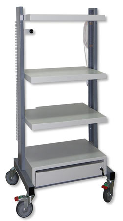 Стойка медицинская приборная СМП-01 (тележка-аналог по рекомендации Fujinon)