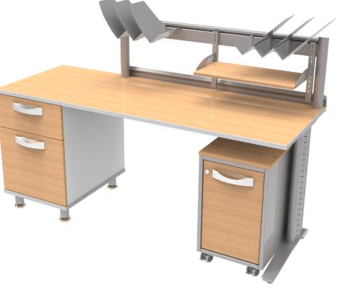 Офисная мебель ИЗ НАБОРА МЕДИЦИНСКОЙ МЕБЕЛИ, ДЛЯ ОСНАЩЕНИЯ КАБИНЕТА (Набор стола №2)