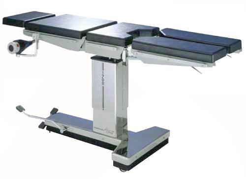 Merivaara 1650, операционный стол с пневмогидравлическим приводом с разделенной ножной секцией