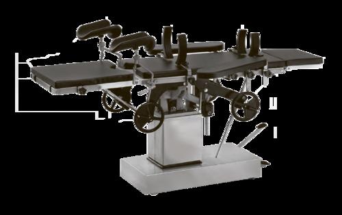 Стол операционный СТ-1 (1.02) механогидравлический привод