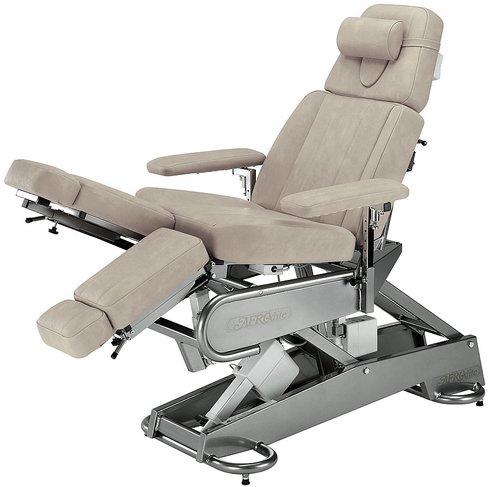 Кресло косметологическое Afrodite, 2 мотора (Hanning), электроприводы высоты и спинной секции, раздельная ножная секция