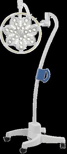 Светильник с аварийным питанием хирургический передвижной ЭМАЛЕД 300П (источник бесперебойного питания до 5 ч)