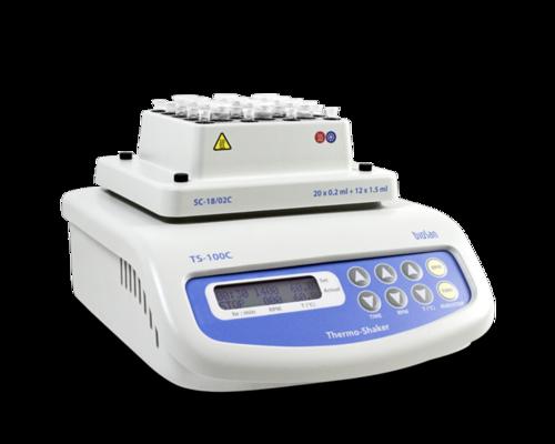 Термошейкер для пробирок Эппендорф и ПЦР-планшета TS-100C с функцией охлаждения