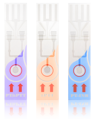 Тест-полоска qLabs® PT-INR Test Strip для определения показателей ПТВ-МНО в цельной крови 12 шт/упаковка